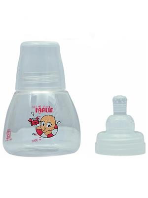 Farlin Nf 803 - Pink Unisex-Baby Firm Base Feeding Bottle  Small  150 Cc