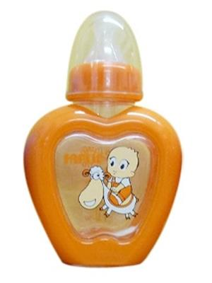 Farlin Nf 807 - Orange Unisex-Baby Apple Shaped Bottle 150 Cc