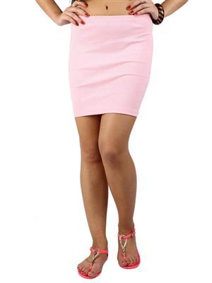 N-Gal NG71028 Baby Pink Women Skirt