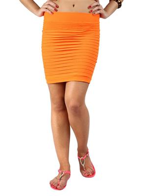 N-Gal NG71029 Orange Women Skirt