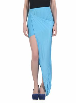 N-Gal NG71065 Blue Women Skirt