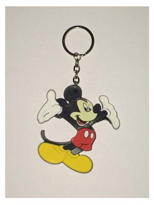 Imported NG_KEY890 Multicolored Mickey Mouse Key Chain