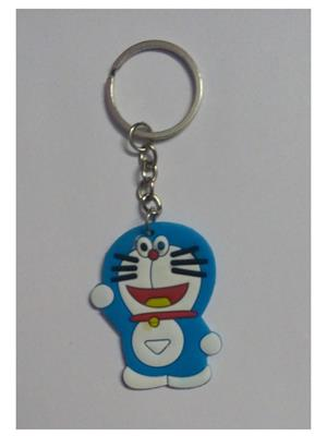 Imported NG_KEY892 Multicolored Doraemon Key Chain