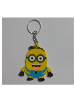 Imported NG_KEY897 Multicolored Minions Key Chain