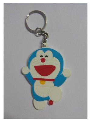 Imported NG_KEY898 Multicolored Doraemon Big Key Chain