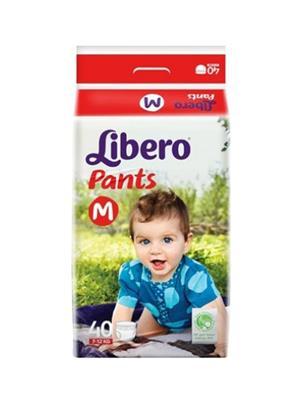 Libero NG_LIBM40 White Pants Diaper