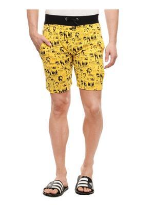 Rose Taylor Nick40114 Yellow Men Short