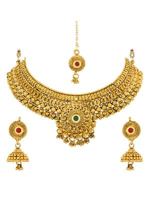 The Luxor NK-1844 Multicolored Women Necklace