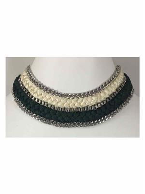Quail Nk5071A Green Necklace sets
