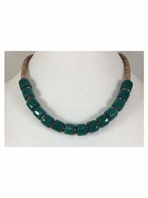 Quail Nk5079 Green Necklace sets