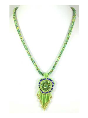 Quail Nk5580 Green Necklace sets