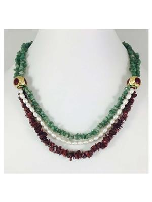 Quail Nk5584 Multicolor Necklace sets