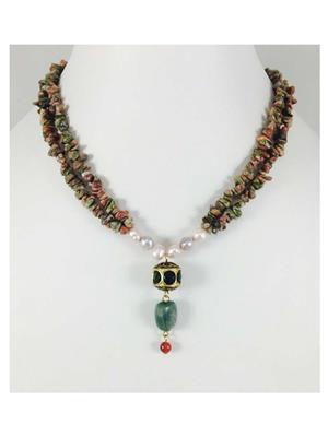 Quail Nk5589 Multicolor Necklace sets