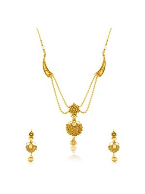 Donna NL25011 Golden Women Jewellery Sets