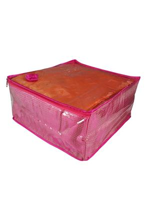 Fashionista NM217 Pink Women Saree Box