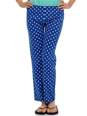 Clovia NS0431P03 Blue Women Pajama