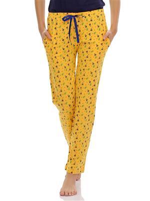 Clovia NS0432P02 Yellow Women Pajama