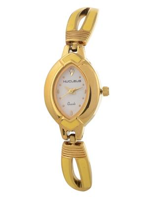 Nucleus NTLGCY Gold Women Analog Watch