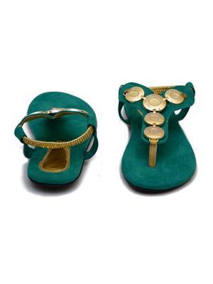 Novelty NV22 Green Women Sandals
