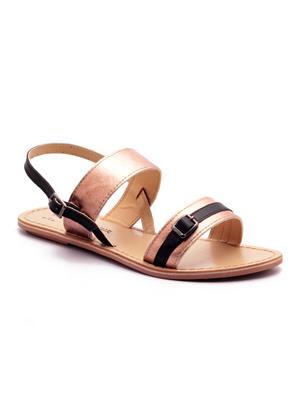 Naughty Walk Nw-701-Bb Bronze Women Sandals
