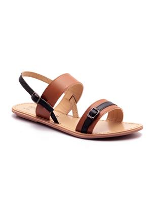 Naughty Walk Nw-701-Tb Tan Women Sandals