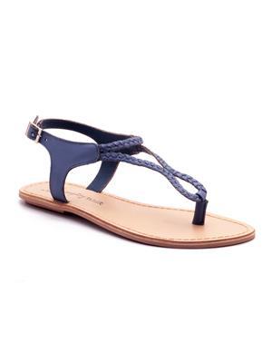 Naughty Walk Nw-704 Blue Women Sandals