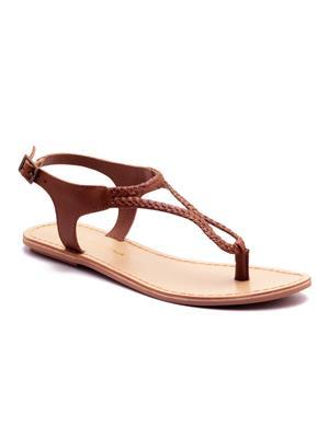 Naughty Walk Nw-704-T Tan Women Sandals