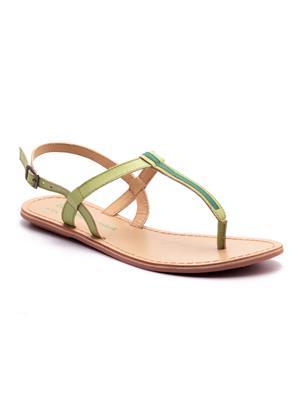 Naughty Walk Nw-705-Lg Light Green Women Sandals