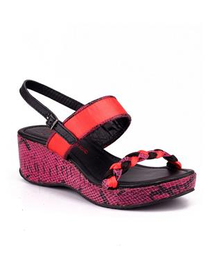 Naughty Walk Nw-707 Pink Women Wedges