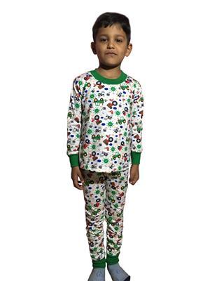 Lilsugar Nwe04 Green Boy Night Suit