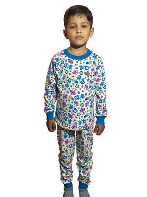 Lilsugar Nwe07 Blue Boy Night Suit