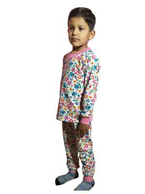 Lilsugar Nwe08 Pink Boy Night Suit