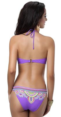 N-Gal Originals NY3074  Purple Women Swim Wear