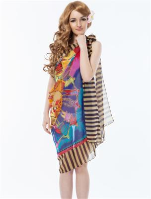 N-Gal Originals NYB050 Multicolored Women Coverups