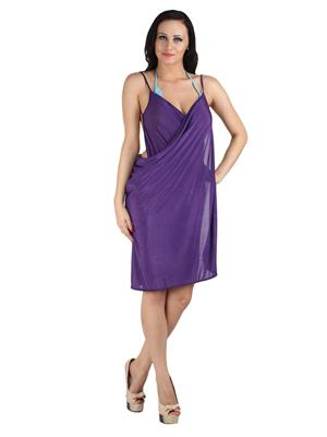 N-Gal Originals NYB079 Purple Women Beach Wear