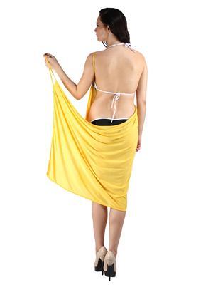 N-Gal Originals NYB079 Yellow Women Beach Wear
