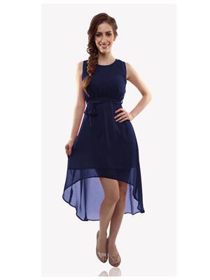 The Shopoholic Nybl Navy Blue Women Dresses