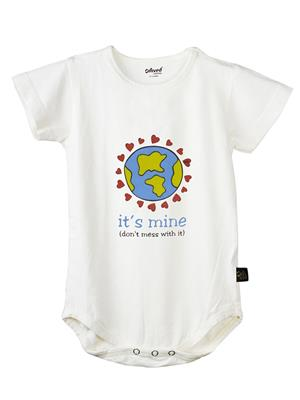 Omved Octb0016 White Kids T-Shirt