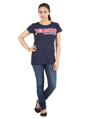 Ymfonline OKTOBERFEST TEE-NAVY Women T-Shirt