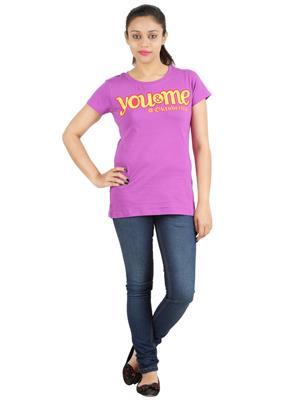 Ymfonline Oktoberfest Purple Women T-Shirt