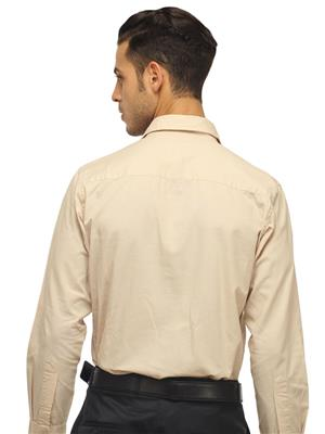 Olive Garden O-29 Off White Formal Shirt