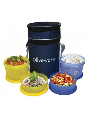 Oliveware Oliveware_ Lovely Little Lunch Bag  Lovely Little 3 Containers Lunch Box