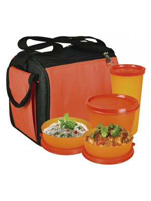 Oliveware Oliveware_  Quick Carry Lunch Bag Lunch Bag  Quick Carry Lunch Bag 4 Containers Lunch Box