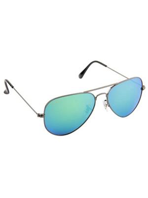 Opticalplaza op2015 Blue Aviator sunglasses