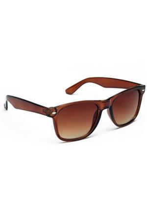 Opticalplaza op2015 Brown Wayfarer Sunglasses