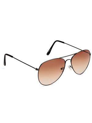 Opticalplaza op2015 Brown Aviator sunglasses