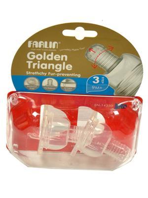 Farlin P-3 L Unisex-Baby Bottle Nipples