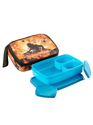 Signoraware P11515 Blue Lunch Box With Bag