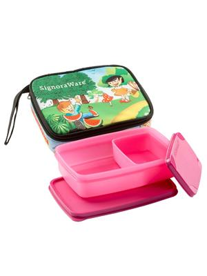 Signoraware P12544 Pink Lunch Box