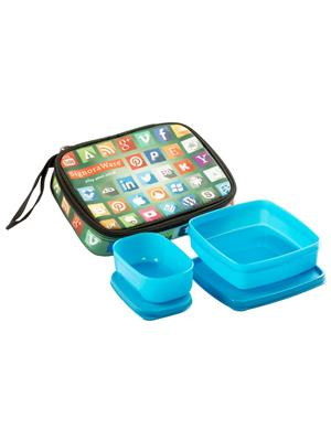 Signoraware P13503 Blue Lunch Box